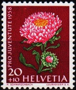 Switzerland. 1958  20c+10c S.G.J174 Unmounted Mint