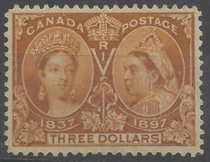 Canada Mint XF-H #63 -- $3 JUBILEE C$2000.00