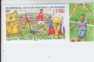 2018 Wallis & Futuna Isles World Cup Soccer   (Scott 799) MNH