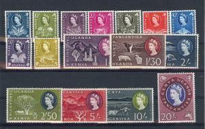 Kenya,Uganda,Tanzania,120-35,Various Designs Singles,**MNH**