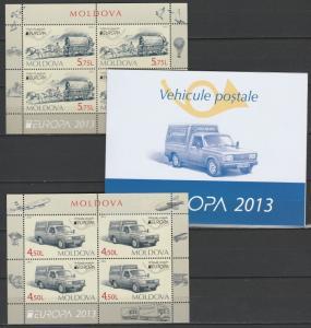 Moldova 2013 CEPT Europa MNH  Booklet