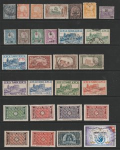 Tunisia a small collection mainly earlies