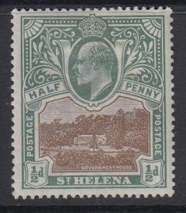 ST. HELENA, Scott 50, MHR
