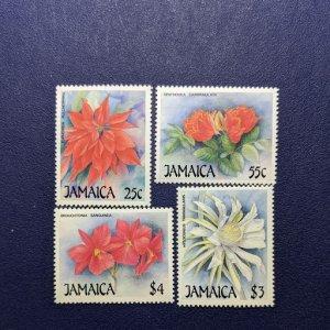 Jamaica 706-9 VFNH complete set, CV $6.30