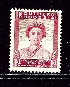 Southern Rhodesia 67 MH 1947 issue    (ap2714)