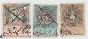 Austria Cinderella Revenue Fiscal stamp 9-19-21 as seen- 4d
