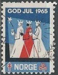 Norway Christmas Seal 1965 (used)
