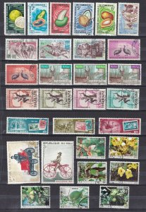FRENCH  COLONIES^^^^OLDER    x30  collection  ( TOPICALS)  $$@ dca 1418colo18