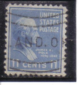 816 - .11 Polk used vf.