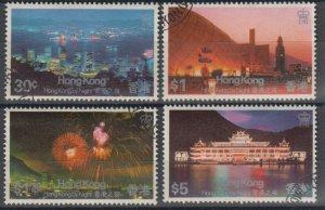 Hong Kong 1983 Hong Kong by Night Stamps Set of 4 Fine Used