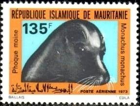 Seal's Head, Mauritania stamp SC#C130 MNH