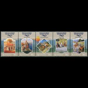 AUSTRALIA 1987 - Scott# 1034 Paterson Ballad Set of 5 NH