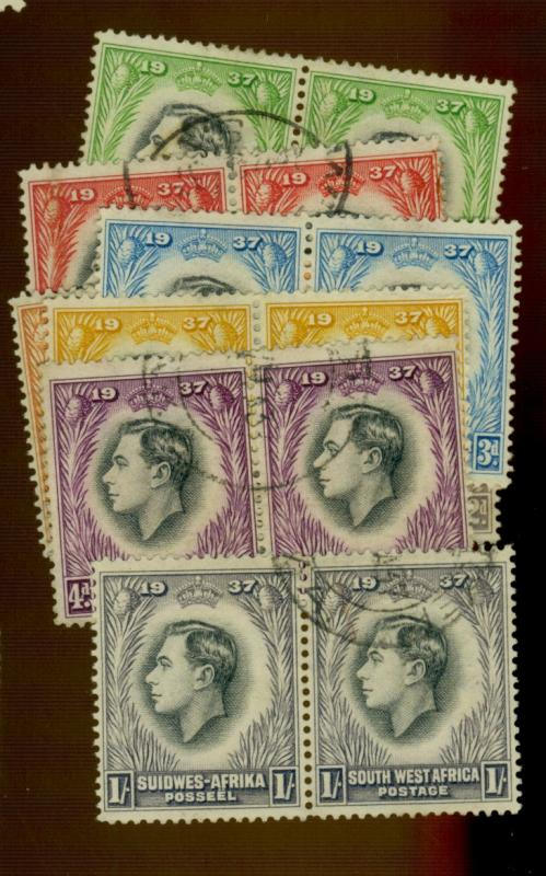 South West Africa #125-32 Used FVF Cat$9