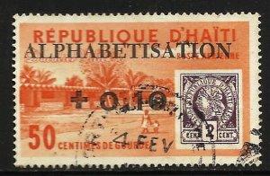Haiti Air Post Semi Postal 1963 Scott# CB47 Used