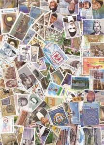 Nepal Collection - 500 Different Stamps Mostly Pictorials