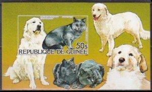 1985 Guinea 1058/B159b Cats 30,00 €