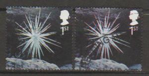 Great Britain SG 2411 Fine Used 2 shades