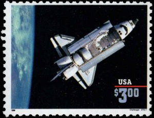 US #2544b $3.00 PRIORITY MAIL CHALLENGER MNH