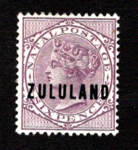 ZULULAND  SC# 13  F/MNG