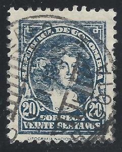 Colombia #416 20c Christopher Columbus