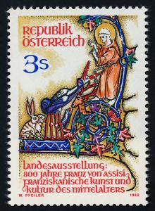 Austria 1209 MNH St Francis of Assisi