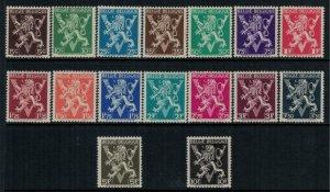 Belgium #338-53  CV $12.30