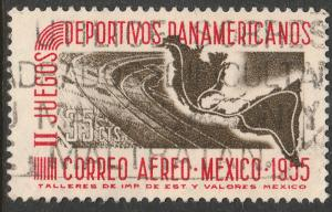 MEXICO C228, 35c Second Pan American Games. Used. (1070)