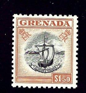 Grenada 182 MLH 1955 issue    (ap1372)