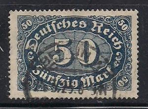 Germany Sc. # 198 Used Inflation Wmk. 126 - L33