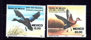 Mexico 1346-47 MNH 1984 Ducks