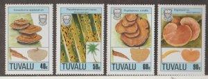 Tuvalu Scott #497-500 Stamps - Mint NH Set
