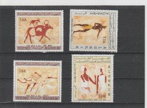 Algeria  Scott#  344-7  MH  (1966 Wall Paintings)