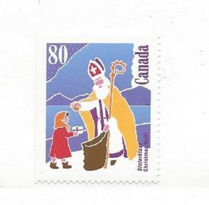 Canada, 1341, Christmas 1991 Single, MNH
