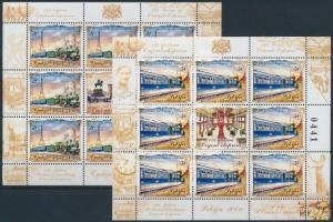 Serbia stamp Orient Express minisheet set MNH 2008 Mi 255-256 WS197494