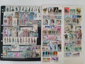 Lot Spain 1968 - 1976 143 stamps used/unused