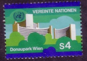 UN Vienna Sc# 3 Donaupark Vienna MNH