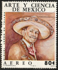 MEXICO C441 Art & Science (Series 4) Musician. Used. VF. (521)