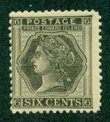 Prince Edward Island #15  Mint F-VF VLH  Scott $6.00