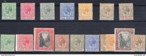BAHAMAS 1901 to 1919 rare lot lmm cv more then 100 gbp