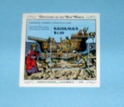 Bahamas - 667, MNH S/S. Discovery of America. SCV - $7.00