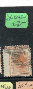 ORANGE FREE STATE  (P0406B)  TREE SG8  1/-   VFU