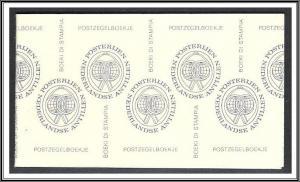 Netherlands Antilles #504b Buildings Booklet MNH