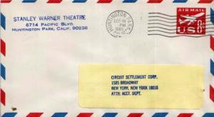 United States, Postal Stationery, Airmail, California
