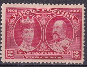 Canada #98 F-VF Unused  CV $40.00   (Z4205)
