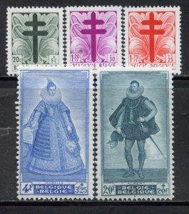 Belgium # B462-66, Mint Hinge. CV $ 55.00
