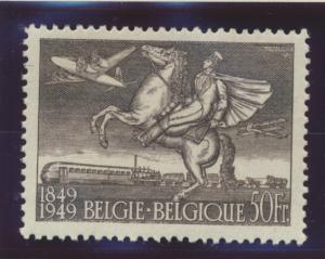 Belgium Stamp Scott #C12, Mint Hinged, Hinge Remnant - Free U.S. Shipping, Fr...