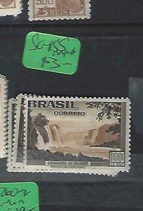 BRAZIL (P1310BB)   WATERFSALLS  1000R  SC 455   MNH