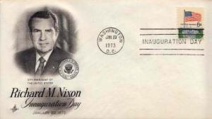United States, Inaugural Cover, District of Columbia