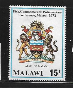 MALAWI, 194, MINT HINGED, COAT OF ARMS