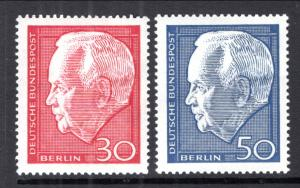 Germany Berlin 9N263-9N264 MNH VF
